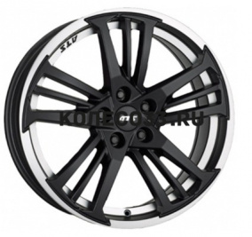 7.5х17/5x100/ЕТ35/D63.3 ATS Prazision Racing Black Double lip polished